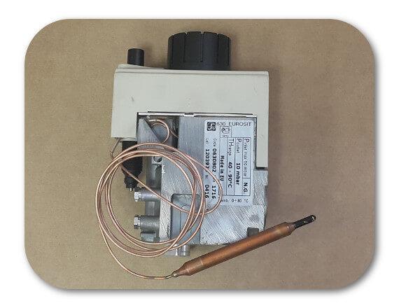 Газовый клапан 0630068 EUROSIT с кожухом и пьезо