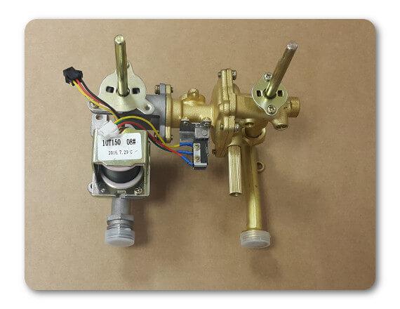 Водогазовый узел, стандарт 10л водонагреватель Vektor Ларгаз Oasis