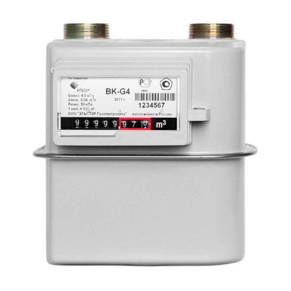 Счетчик газа ВК-G4, G6
