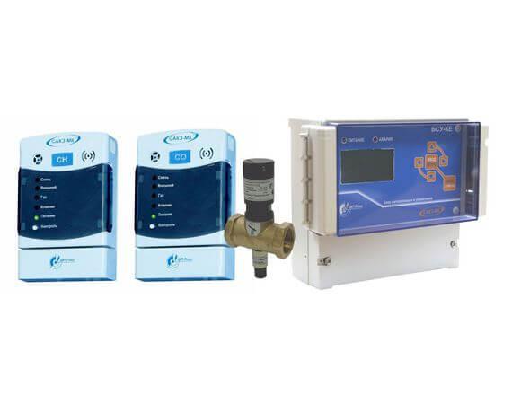 Система автоматического контроля загазованности сетевая САКЗ-МК®-3Е
