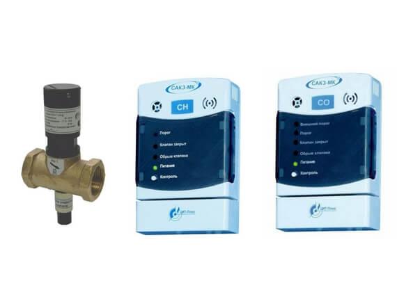 Система автоматического контроля загазованности бытовая САКЗ-МК®-2-1