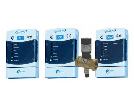 Система автоматического контроля загазованности сетевая САКЗ-МК®-2Е